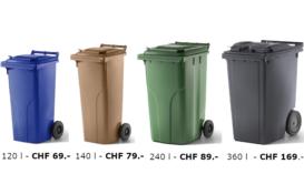 Kunststoffcontainer 2-Rad